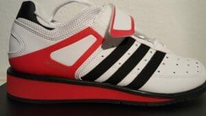 Adidas Power Perfect 2 Seitensicht außen Detailaufnahme