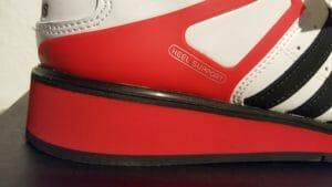 Adidas Power Perfect 2 Seitensicht außen Detailaufnahme Keil